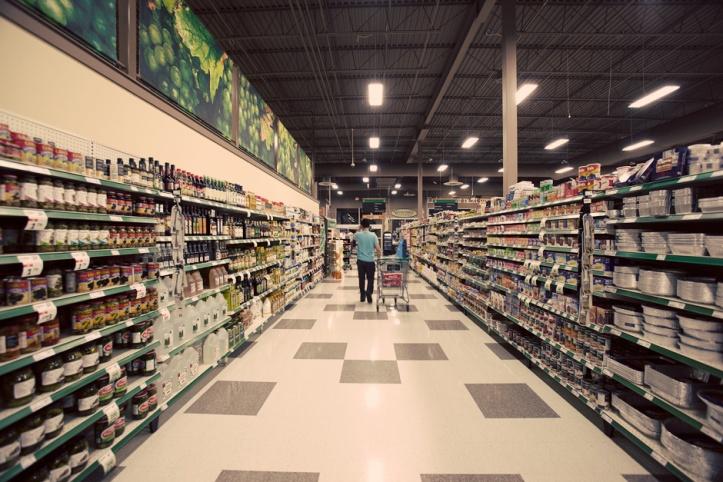 supermercato di notte