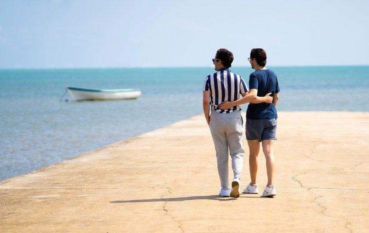 coppia estate amore